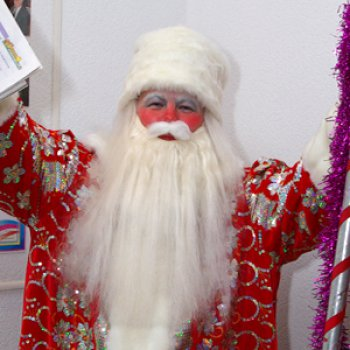Борода деда мороза своими руками фото