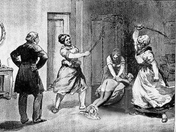 жена высекла мужа